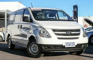 2012 Hyundai iLOAD TQ MY11 White 5 Speed Manual Van Glendalough Stirling Area Preview