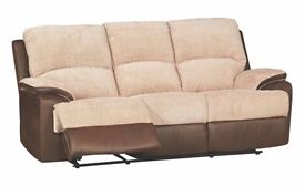3 seater recliner - brand new - can deliver