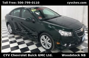 2014 Chevrolet Cruze 2LT RS Package - Heated Leather, Remote Sta