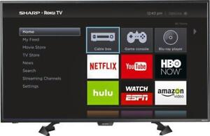 "SHARP 43"" LED ROKU SMART TV *NEW IN BOX*"