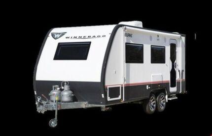 2018 Winnebago Burke B White Caravan Northgate Brisbane North East Preview