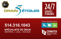 Plombier 24/7 Débouchage drain - Plumber 24/7 Drain Cleaning