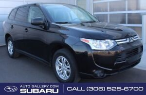 2014 Mitsubishi Outlander ES | ALL WHEEL DRIVE | BLUETOOTH | GRE