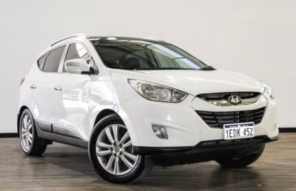 2013 Hyundai ix35 LM2 Highlander AWD White 6 Speed Sports Automatic Wagon Myaree Melville Area Preview