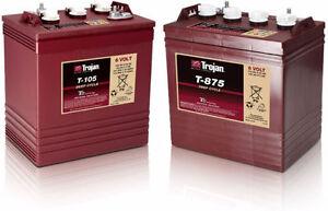 Trojan T105/T875 battery Deep Cycle Battery/Acid-Lead