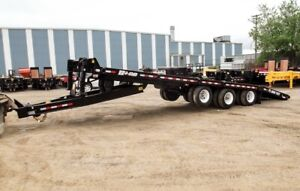 2018 BWS 30 Ton 24' Tilting Equipment Float
