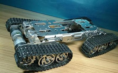 Cnc Metal Robot Atv Track Tank Chassis Suspension Obstacle Crossing Crawler