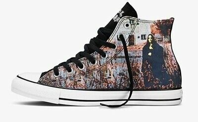 Converse All Star Black Sabbath Shoes Men's 11.5 kiss vans iron maiden slayer