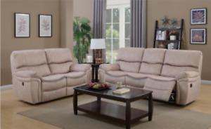 Brand new recliner love seat