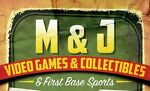 MJVideoGamesandFirstBaseSportsCards