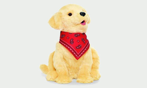 Joy for All Companion Pet Realistic Lifelike Soft Cuddly Golden Pup