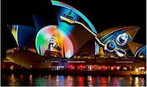 Vivid Cruise- Good time- 2 Adult&1 Child tickets-26 May 5:45pm Sydney City Inner Sydney Preview