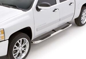 "Stainless Steel Side Steps 3"" Round - 15-17 Colorado Crew Cab"