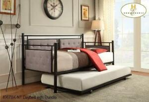 Metal Daybed with Trundle | Daybed Sale (MA302)