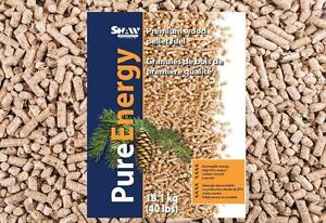 40-pound Shaw Pure Energy Wood Pellet Bags - FREE PEI DELIVERY