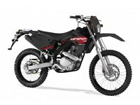 *MOTORCYCLE* 17 Plate Rieju MRT 125AC . Warranty. Free Delivery. Main Dealer: 20-03