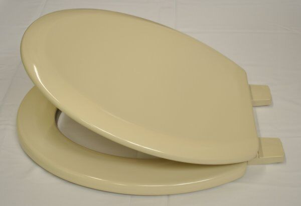 Bemis 5000 Champagne Coloured Toilet Seat Ebay