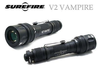 Surefire Red Flashlight (Surefire V2 Vampire Flashlight, Visible Light & Infra)