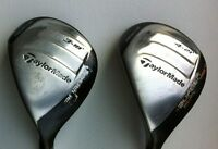 TaylorMade Set 2 Hybrides RESCUE SuperFast 18* & 21* GAUCHER REG