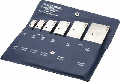 Tesa Brown Sharpe 38 To 2-14 Inch Adjustable Parallel Set 1-34 To 5-116...