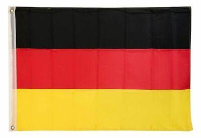 Deutschland Flagge 90x150 cm & 60x90 cm Deutschlandfahne Deutsche Fahne 2 Ösen - Flagge Fahne