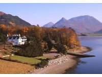 Waiter/General Assistant needed for a quirky Highland Hotel