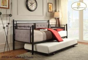 Black Metal Daybed on Sale (MA752)