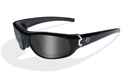 Wiley X Harley-Davidson CURVE Smoke Grey Lenses, Gloss Black Frame (Wiley X Womens Sunglasses)