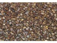 1Ton 10 or 20 gravel / pebbles