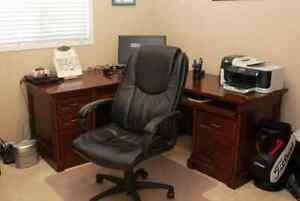 Executive corner desk