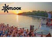 X2 OUTLOOK TICKETS CROATIA 2017 - £175 FOR BOTH