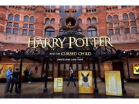 Harry Potter and the Cursed Child x 4 tickets - Stalls - Row K - Same day!