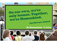 Exciting opportunity – Have FUN and get PAID as an Oxfam Fundraiser - £8+p/hr –Immediate Start!