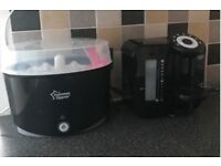 Tommee Tippee Prep Machine and Matching Steriliser