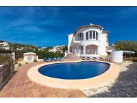 Blake 8. Villa with private pool in Moraira, on the Costa Blanca, Spain