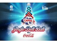 Capitals Jingle bell ball tickets sunday 4th december