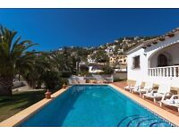 Abuelos 6. Beautiful and comfortable villa with private pool in Benissa, on the Costa Blanca, Spain