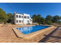 Bianca 8. Large and comfortable villa in Benissa, on the Costa Blanca, Spain