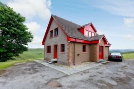 Stunning views of the highlands, 4 bedroom modern property in the heart of the highlands