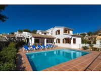 Andurina- 10. Large and nice villa with private pool in Moraira, on the Costa Blanca, Spain