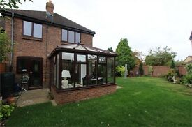 FOUR BEDROOM SEMI DETACHED HOUSE WITH DOUBLE GARAGE IN SHOEBURYNESS, ESSEX