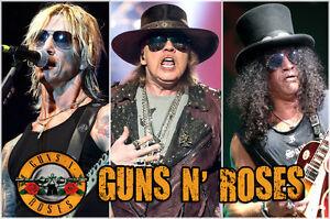 """Guns N Roses Oct. 29  ROW 1 """"Great Seats"""""""