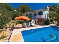 Delfina 4. Rustic and comfortable villa with private pool in Altea, on the Costa Blanca, Spain