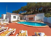 Berg 6. Classic and cheerful villa with private pool in Benissa, on the Costa Blanca, Spain