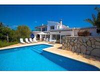 ARC 8. Beautiful and cheerful villa in Moraira, on the Costa Blanca, Spain