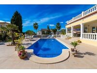 Camelia 4. Beautiful and cheerful villa with private pool in Benissa, on the Costa Blanca, Spain