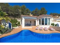 Carlos 6. Comfortable villa with private pool, in Calpe, Costa Blanca, Spain