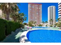 Coral Beach- 4. Apartment with communal pool in Calpe, on the Costa Blanca, Spain