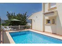 Lurie 6. Villa with private pool in Jalon, on the Costa Blanca, Spain