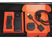 Amazon Fire TV Stick with Remote and Kodi 17.1 Installed